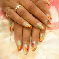 59  silky flowers | 300 nail art designs