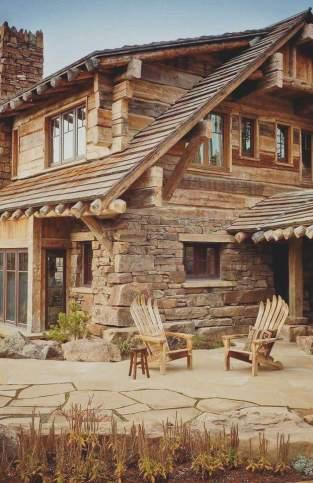 Cabana stil rustic
