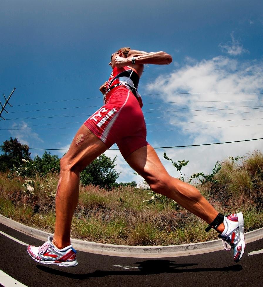peso ideal para correr maraton