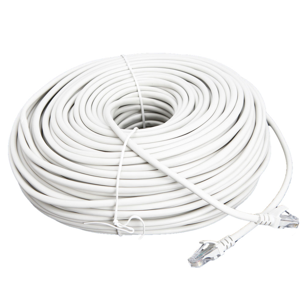 200 Ft Ethernet Lan Cable CAT5 CAT5e Network Connection