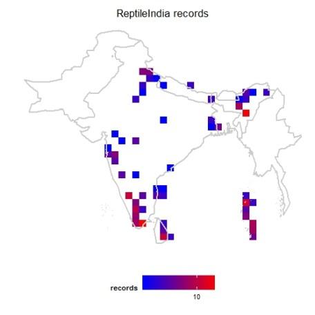 ReptileIndia mapgrid