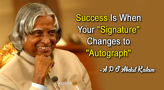 Apj Abdul Kalam Quotes  Leadership, Education, Students