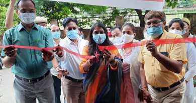 मुख्यमंत्री आरोग्य स्वास्थ्य मेले में निःशुल्क हुई जांच।