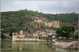 Taragarh Fort or 'Star Fort' is the most impressive of structures of city of Bundi in Indian state of Rajasthan