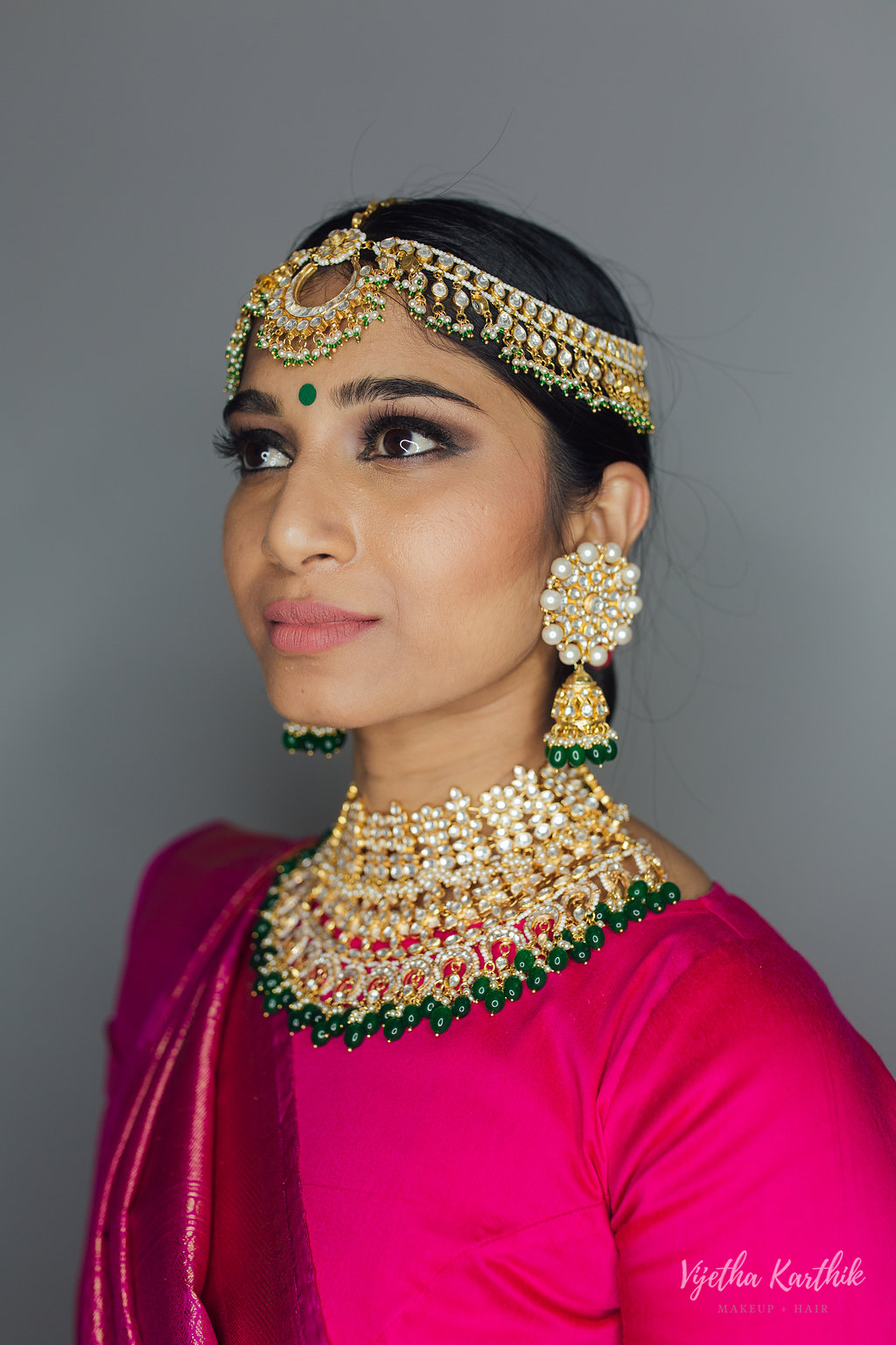 Vijetha Karthik Makeup and Hair