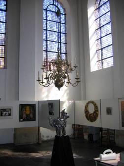 Expositie in de Nieuwe Kerk
