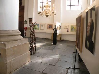 Overzichtsexpositie in de kerk