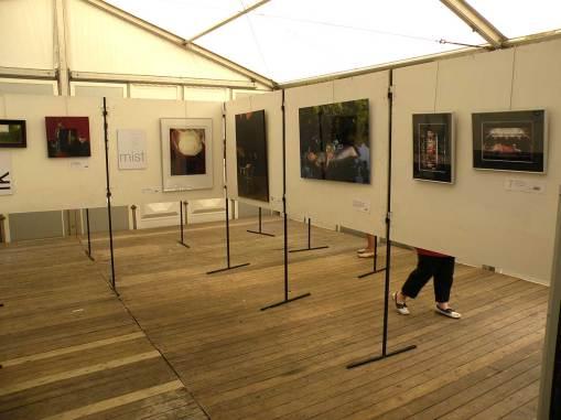 Kunst in de tent