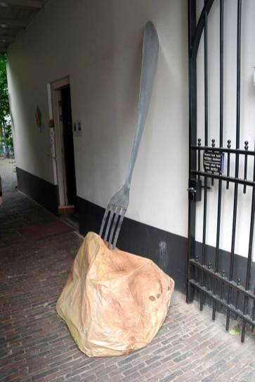 Aardappel en vork bij Proveniershof
