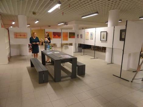 Ondanks drie escape rooms was er ook nog plek in de Kunstkelder