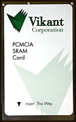 PCMCIA SRAM Card (SRAM memory card)