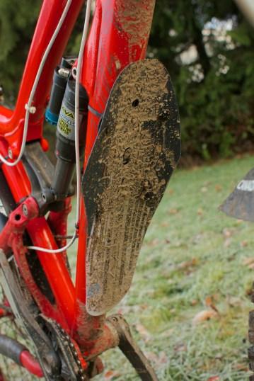 All this mud got blocked...