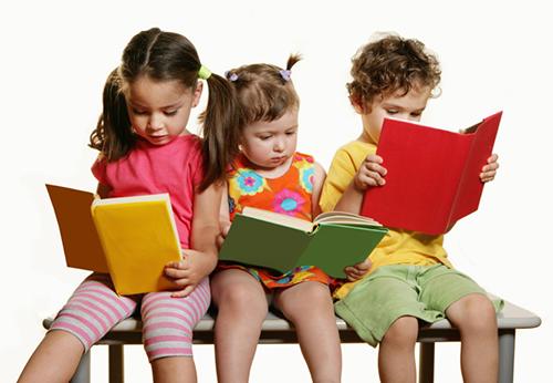 vika raskina - children reading