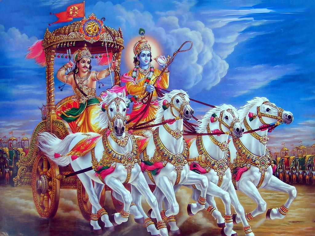 The Bhagavad Gita – World's greatest religious and spiritual scriptures from India.