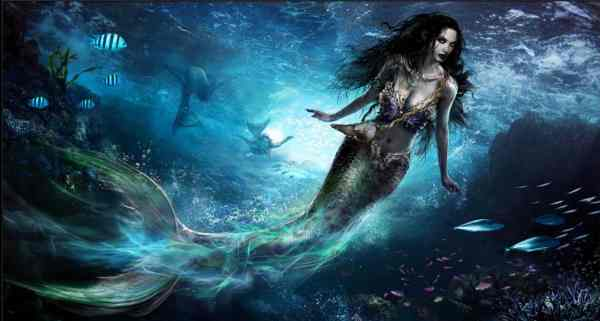 Beautiful Mythical Creatures Mermaids