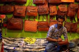 Grab-a-Bag: A baggy boy in Anegundi near Hampi