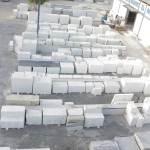 vikas marble Stock yard white marble collection at vikas marble rajsamand