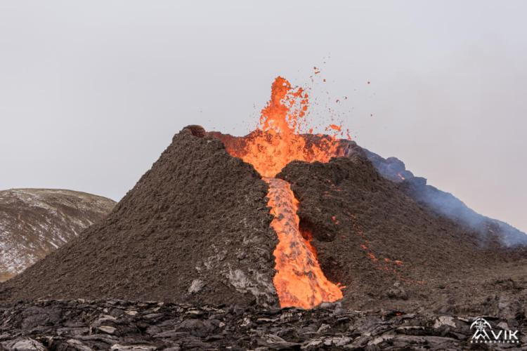 Active Volcanoes in Iceland