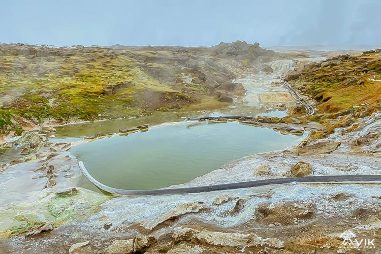 Hveravellir Hot Spring in Icelandic Highlands