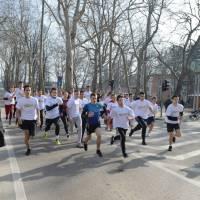 Povodom 761. rođendana Grada Bihaća održana ulična trka učenika...
