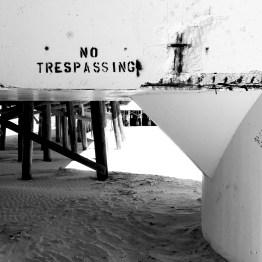 Beneath the pier, Daytona Beach, FL