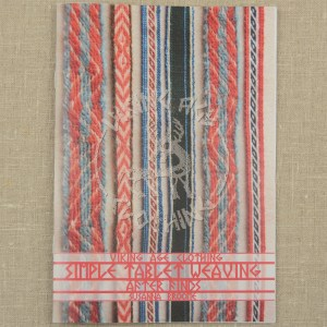 Tablet weaving booklet - front