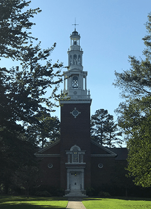 College Chapel, 2018