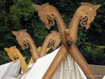 Tent carvings - Moesgard.