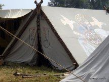 Tent decorations - Moesgard.