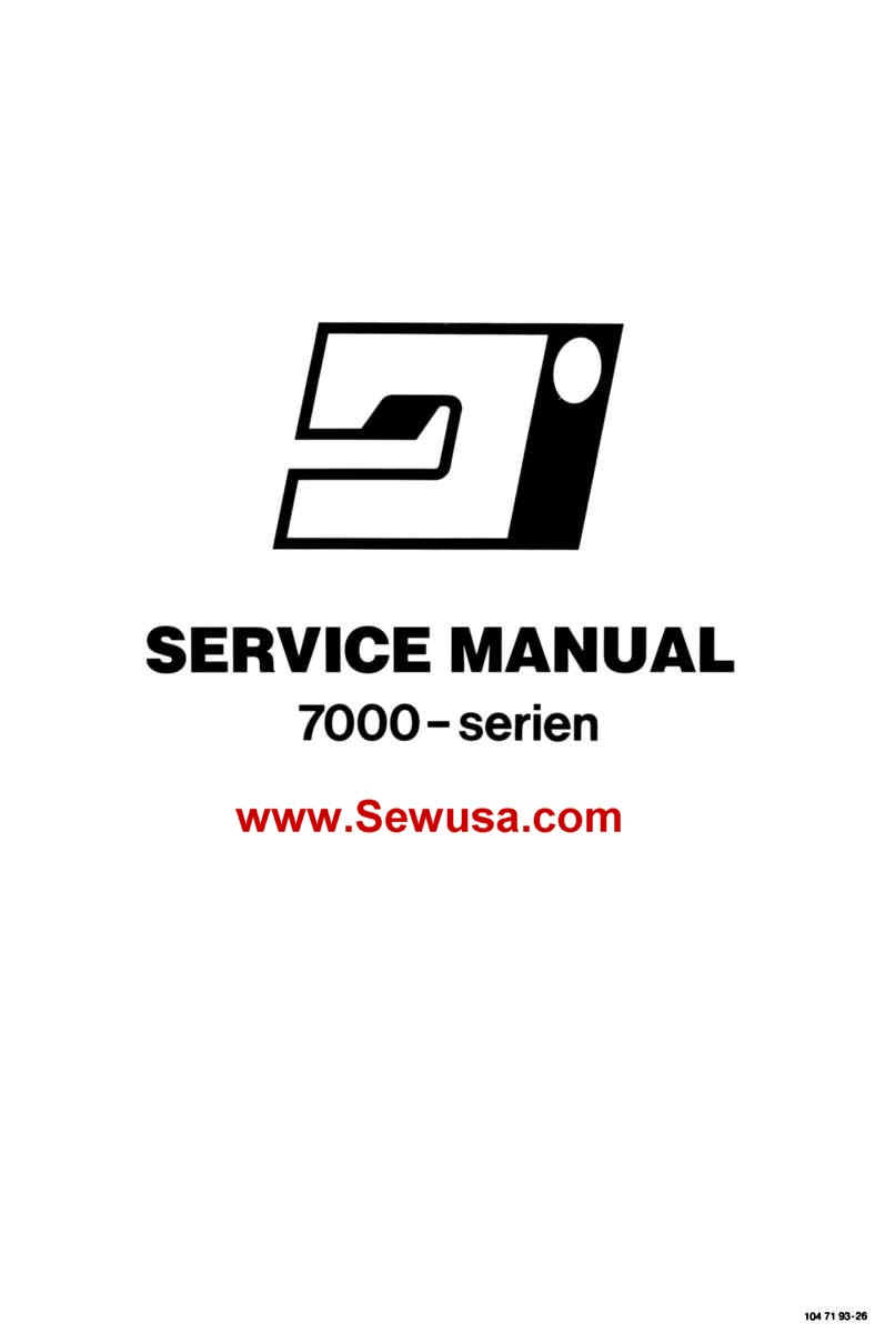 Viking Husqvarna Sewing Machine Service Manuals