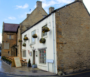 The Eagle and Child Pub of Stow-on-the-Wold, said to be nearly 1100 years  old (dating from 947)