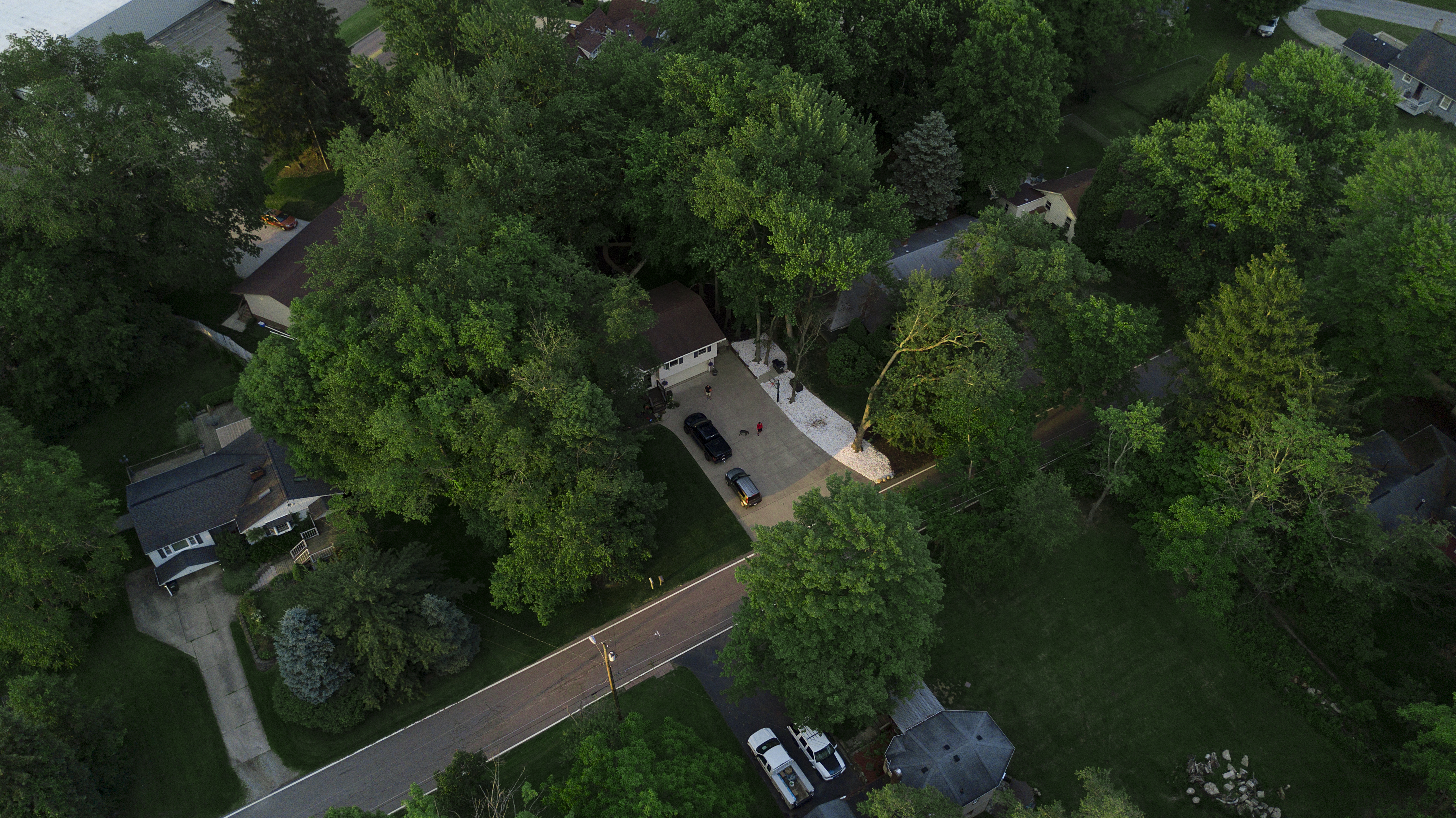 aerial photography stow ohio dji