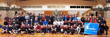 NZ Handball community at NZ Regional Champs 2019