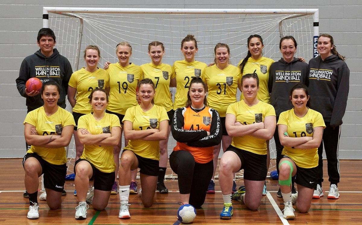 Team Wellington 2019 - women