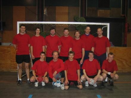 Inaugral Vikings team - 2007