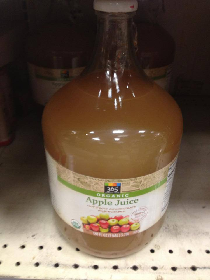 Whole Foods Apple Juice