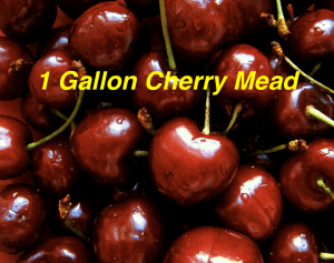 1 Gallon Cherry Mead