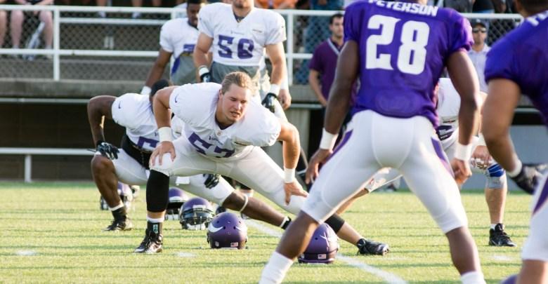 Report Vikings Resign Audie Cole Vikings Territory - Audie cole