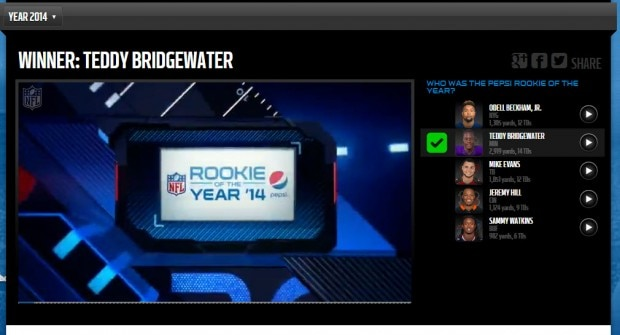 Pepsi Rookie of the Year