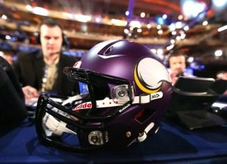 Vikings Helmet Draft