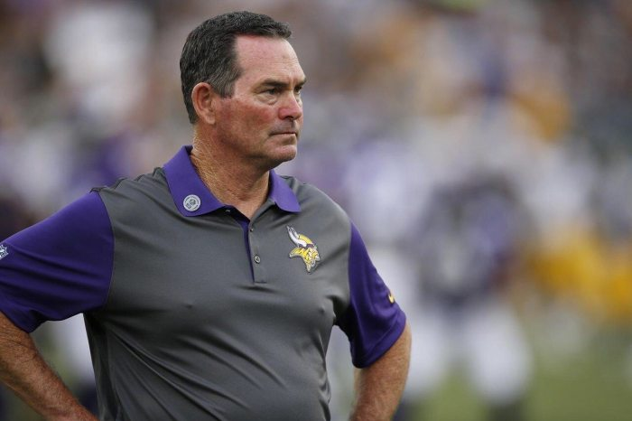 Mike Zimmer named one of NFL's Most Influential
