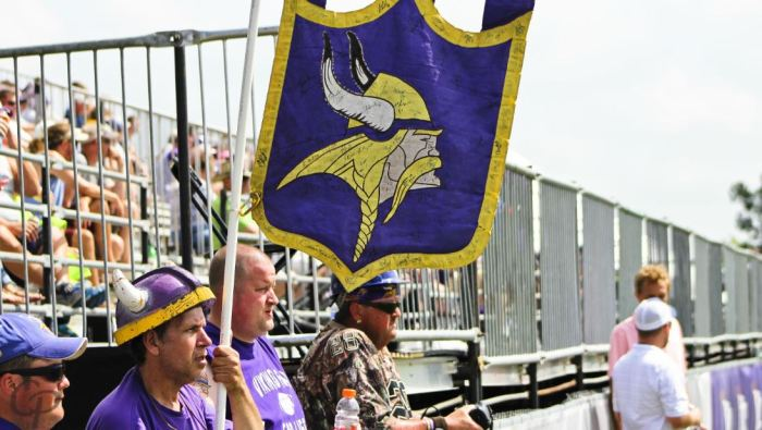 2015 Training Camp Vikings Fans