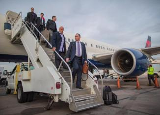 Vikings Mike Zimmer Travel To Arizona