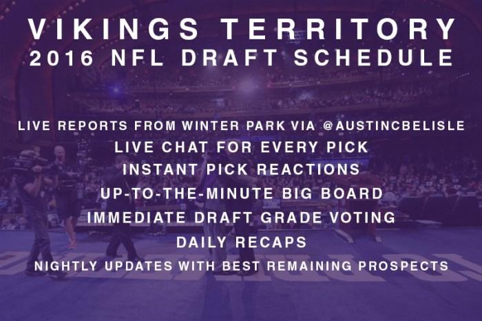 2016 NFL Draft Schedule