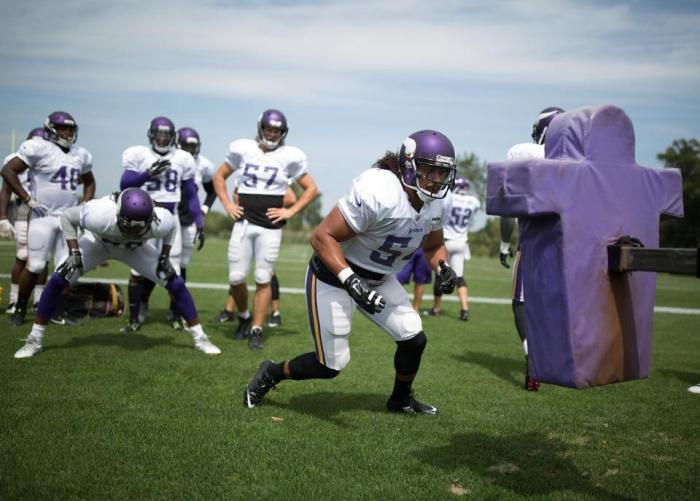Vikings practice