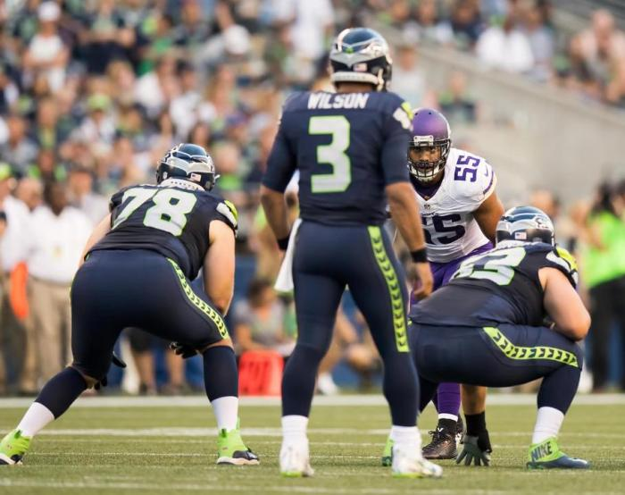 Vikings Pass Rush Silences Seahawks