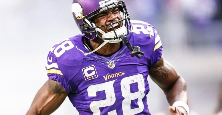 Adrian Peterson speculates
