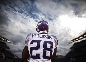 Adrian Peterson to the Packers
