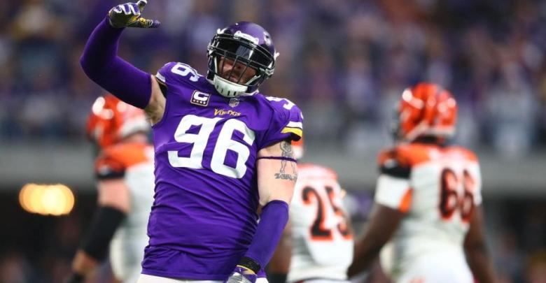 huge discount 5cb7b ffef0 Brian Robison Retires in Purple - Vikings Territory