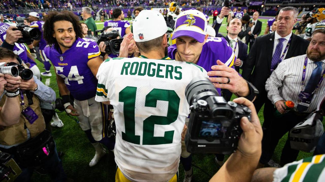 Kirk Cousins Is Officially Now Better Than Aaron Rodgers At Least According To Cbs Sports Vikings Territory